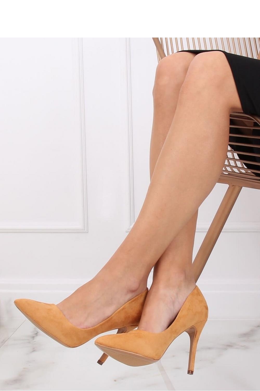 Pantofi cu toc subtire (stiletto) model 137457 Inello