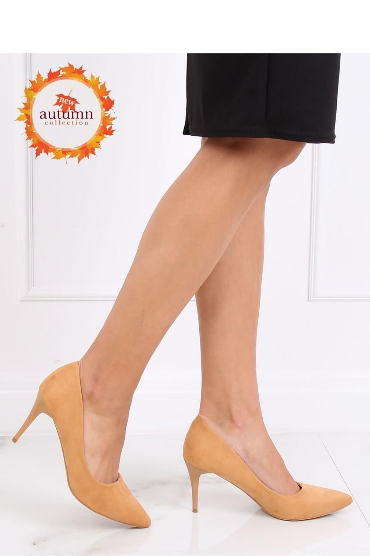 Pantofi cu toc subtire (stiletto) model 137461 Inello