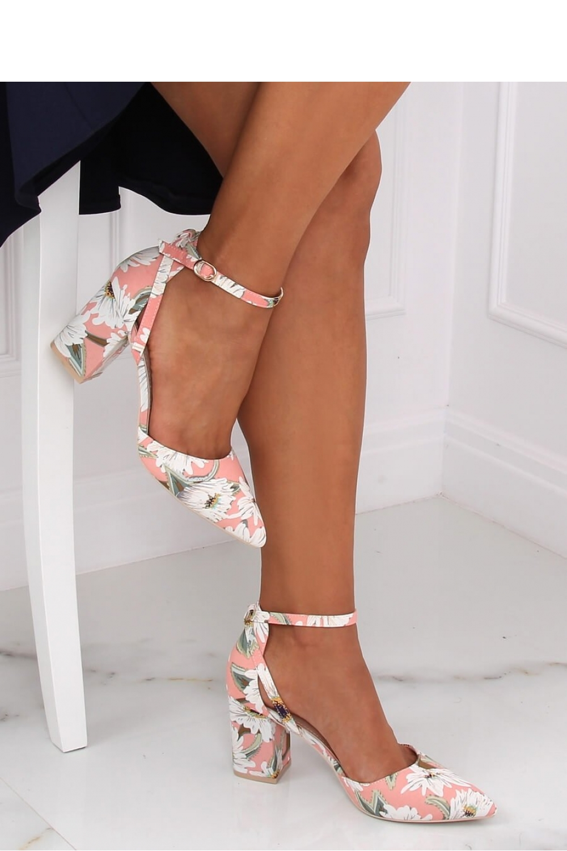 Pantofi dcu toc gros model 145912 Inello