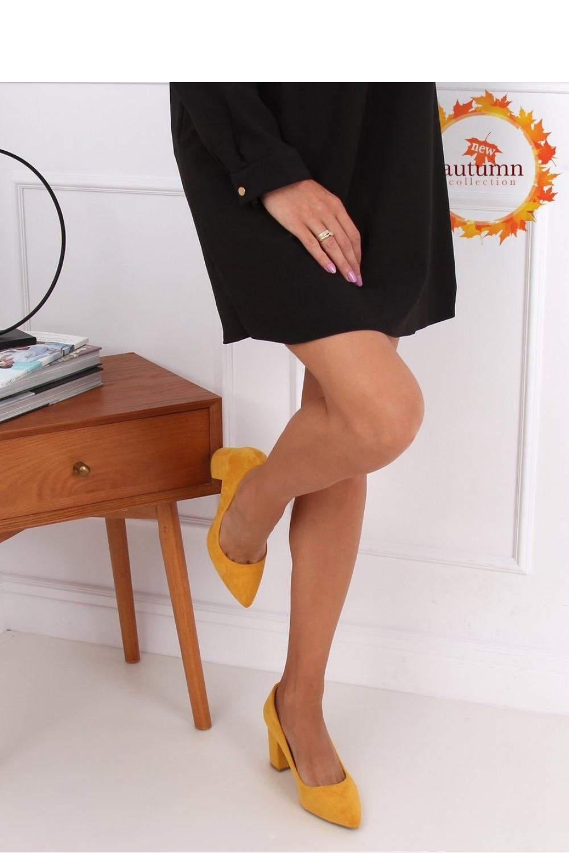 Pantofi dcu toc gros model 146679 Inello