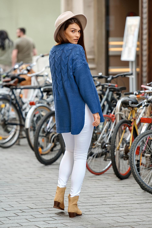 Sweter Damski Model LS309 Jeans - Lemoniade